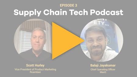 Supply Chain Podcast - Roambee - MaxQ