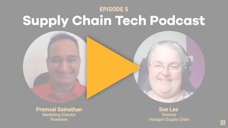 Supply Chain Podcast - Roambee - Hexagon Supply Chain