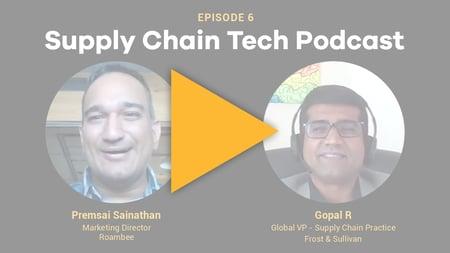 Supply Chain Podcast - Roambee -Frost & Sullivan